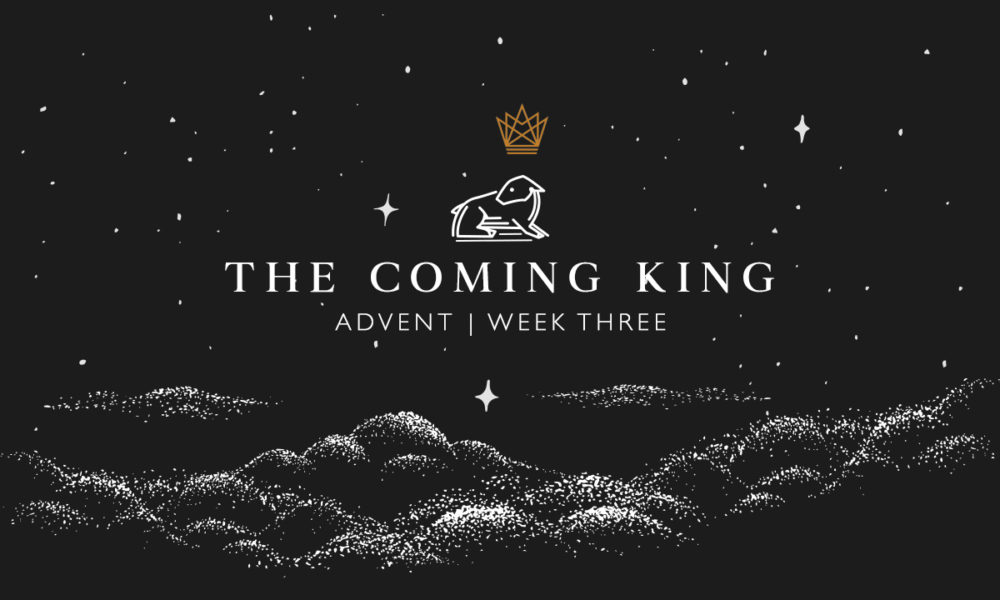 THE COMING KING : DECEMBER 13, 2020